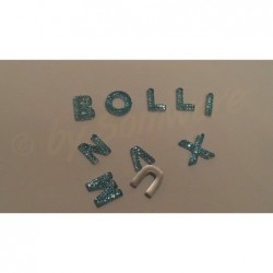 Acryl Buchstaben Mix Hellblau