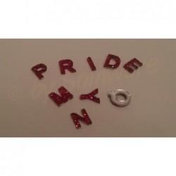 Acryl Buchstaben Mix Rot