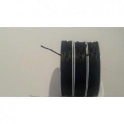 Wachsschnur 1 mm schwarz