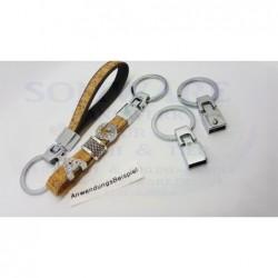 Schlüsselbandhalter flach...