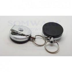 Schlüssel-Clip mit Auszug