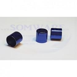 Endkappe für 10mm blau-met