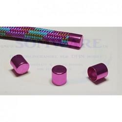 Endkappe für 10mm pink-met