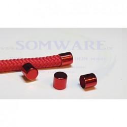 Endkappe für 10mm rot-met