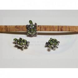 SP Schildkröte Strass grün