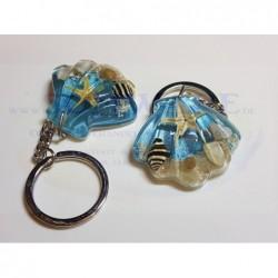 Schlüsselanhänger Muschel