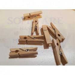 Holzklammer klein