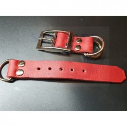 Fettleder Adapter Rot 25mm
