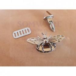 Taschenverschluss Biene si