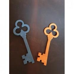 Fettleder Stanzteil Schlüssel