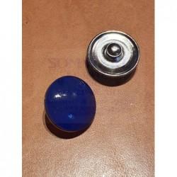 Druckknopf dunkelblau