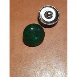 Druckknopf dunkelgrün