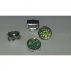 SP 10 mm hellgrün facettiert