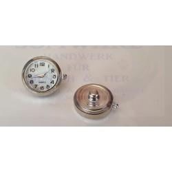 Zier Druckknopf Uhr