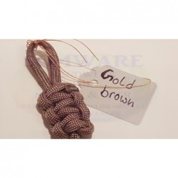 Paracord Typ 3 Gold Brown